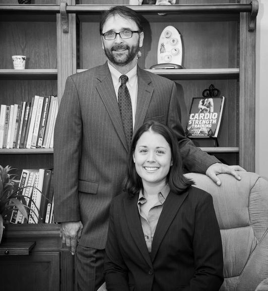 Robert Korzen, Vice President, & Jennifer Korzen, President