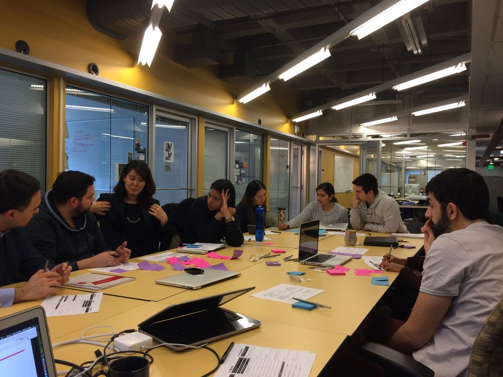 Workshop with Eni at the MIT Mobile Experience Lab in January 2015.