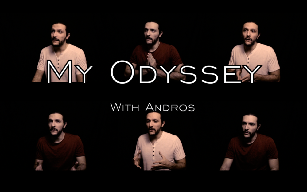 """My Odyssey - """"My Odyssey"""" is a new series debuting in January 2019.In each episode, Andros will open up about his experiences, thoughts, and feelings as they relate to his journey in the world of professional wrestling.Andros speaks with a candor and transparency rarely seen in sports entertainment."""