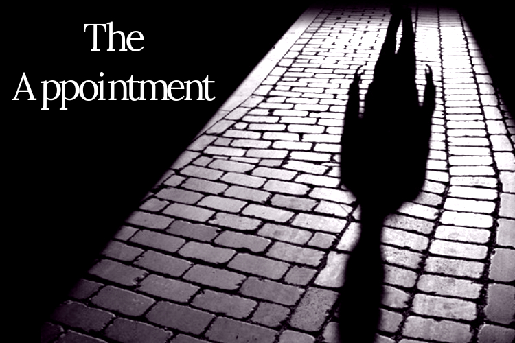 The Appointment - February 4th, 2017There is an important meeting that must be kept in the town of Cold Springs this evening. Join our mysterious main character as he makes his way to 210 Montgomery Avenue for his appointment with Evelyn White.Click here to read