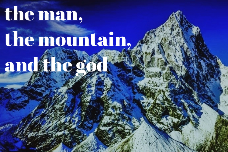 The Man, The Mountain, and The God - October 5th, 2016This was my first attempt at a short story in quite a long time.There are legends surrounding of the mountain where the god lived. The locals would never question these stories or explore the mountain. Then a man came along that did. What does he discover? Are the legends true? Is the god real?Read on to find out.