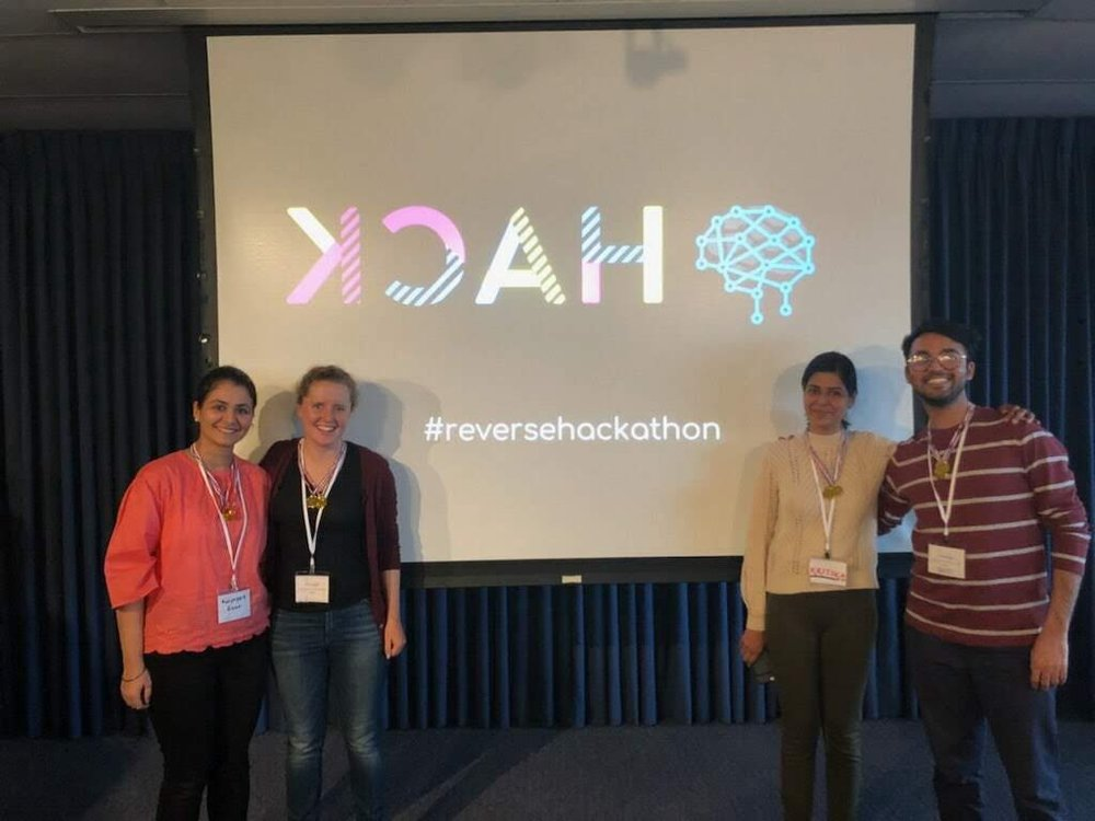 Congratulations to Team Emotion-ally, the winners of the Reverse Hackathon