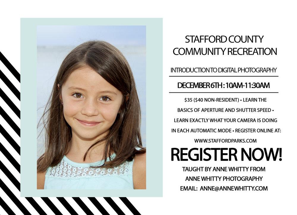 Beginner Photography Ad - Stafford County.jpg