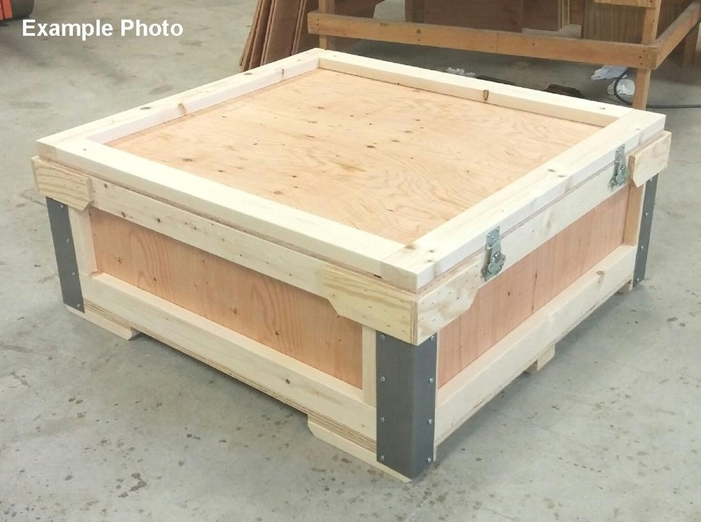 Top Loading Flat Crate - This reusable crate could be used for so many things.Tell us what size will work for you, and we will design a custom solution.Divided interior? Sure! Carpet? Foam interior? Ok!