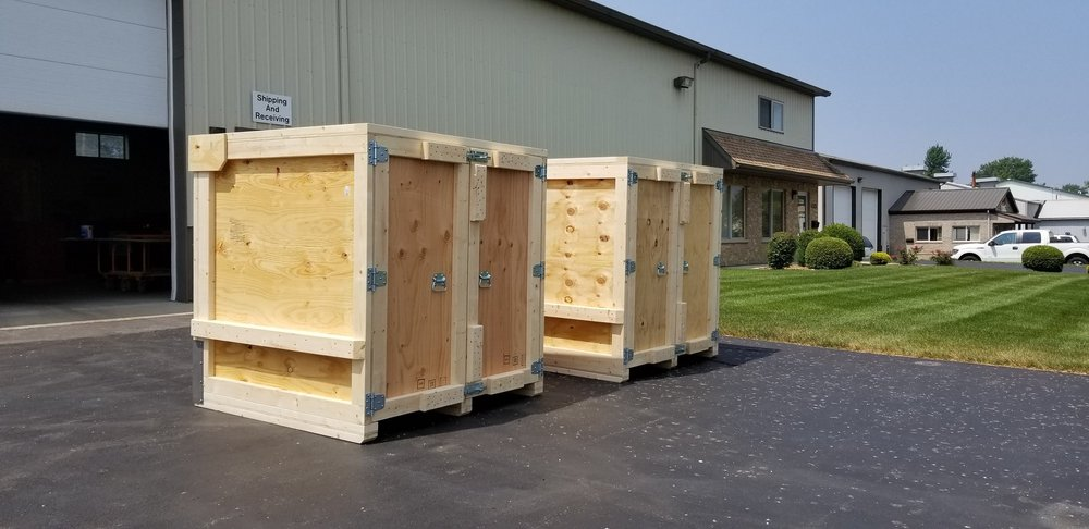 ShippingCrates &Custom Skids.Built Right.———————— - experienced specialistsProducing strong, well-built Crates that you can rely on