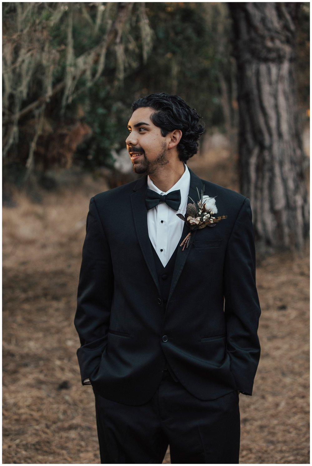 carol oliva photography Edward in black tuxedo