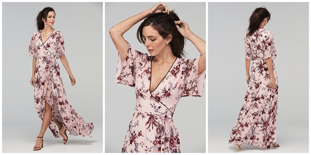 Watters fall 2017 floral print dresses