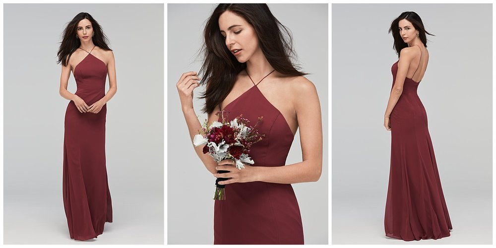 Whitney dress watters fall 2017 bridesmaid collection