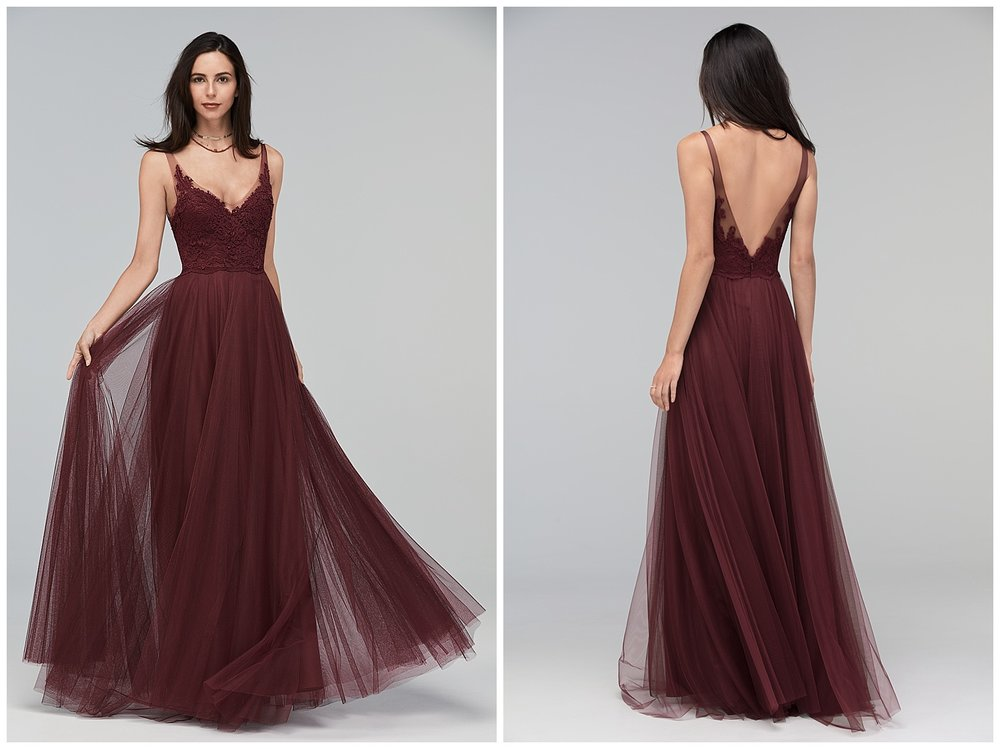 watters fall 2017 bridesmaid collection