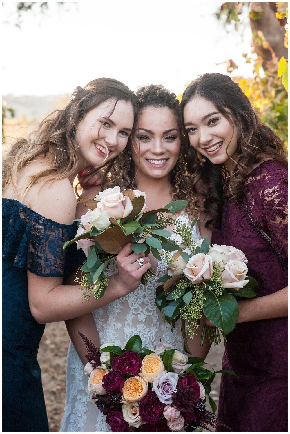 jen vasquez photography bride and bridesmaids Watters