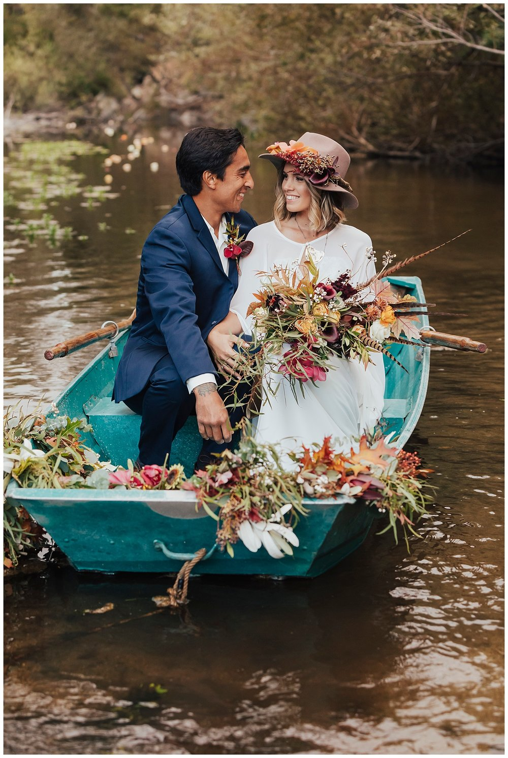 carol oliva photography boho river bride