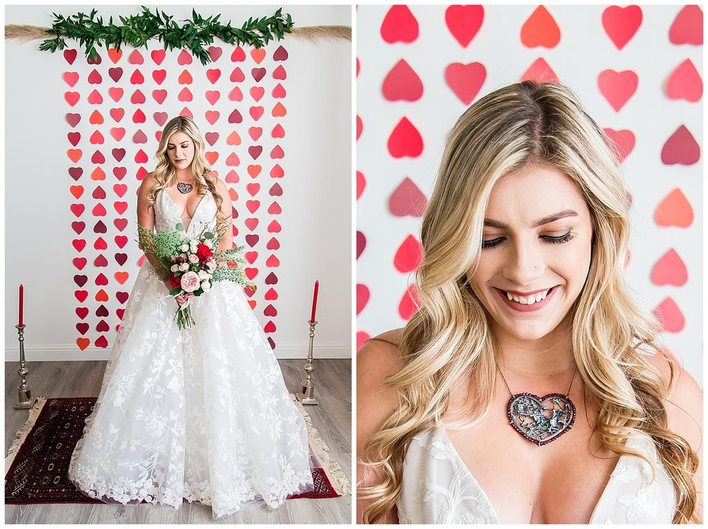 Kelley williams photography valentines day 2018 wedding