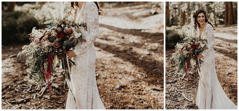 lake-tahoe-winter-wedding-boho-lace-wedding-dress-with-bouquet.jpg