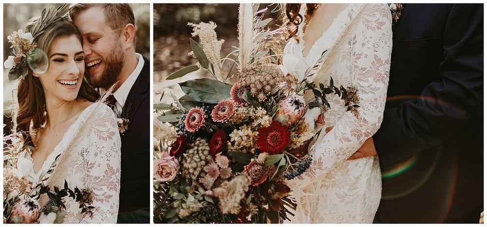 lake-tahoe-winter-wedding-boho-wedding-bouquet-lace-dress.jpg