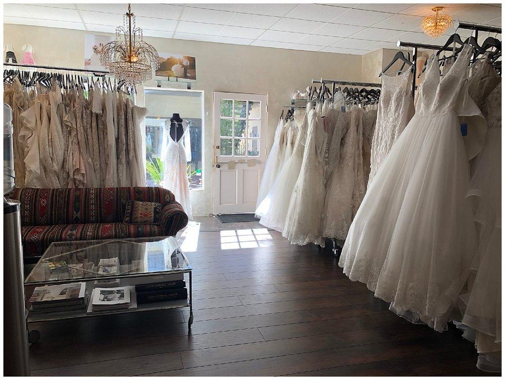 "Epiphany Bridal Boutique in Carmel-by-the-Sea, California. We are ""California's Destination Bridal Boutique""."