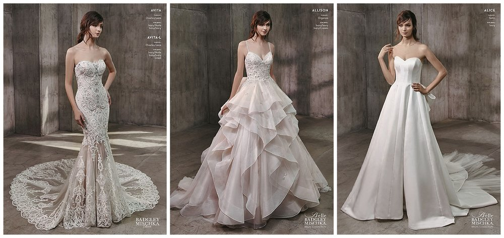 Badgley Mischka Wedding Dresses that will be offered at 50% off or more at this sale!