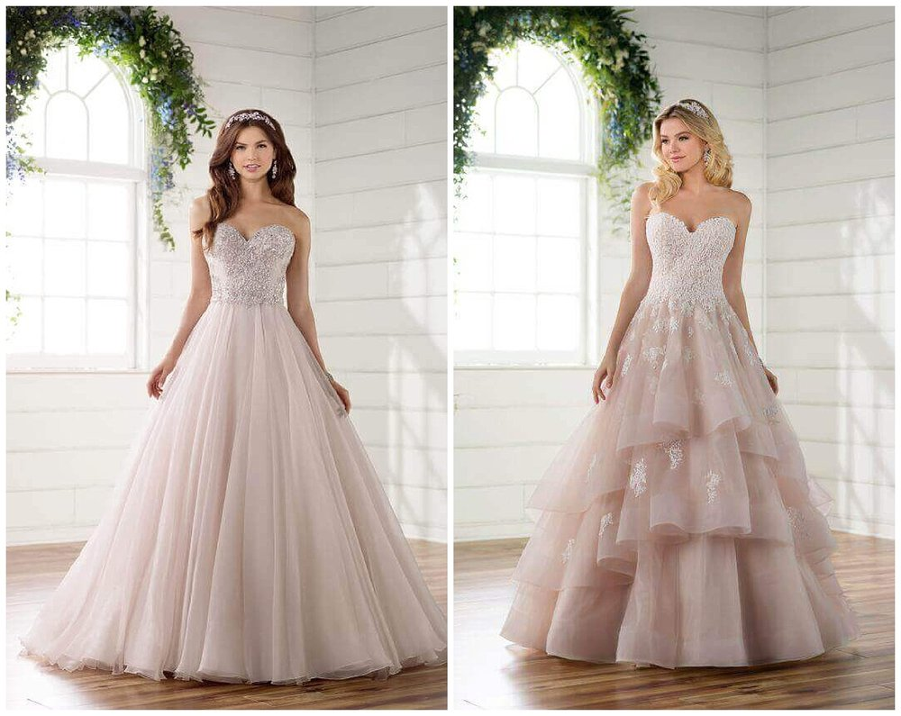 Gowns from our Essense of Australia Collection!