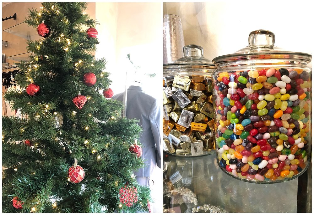 Epiphany has become very well known for our candy bar! Always fully stocked for our brides, customers and our UPS/Fedex guys!