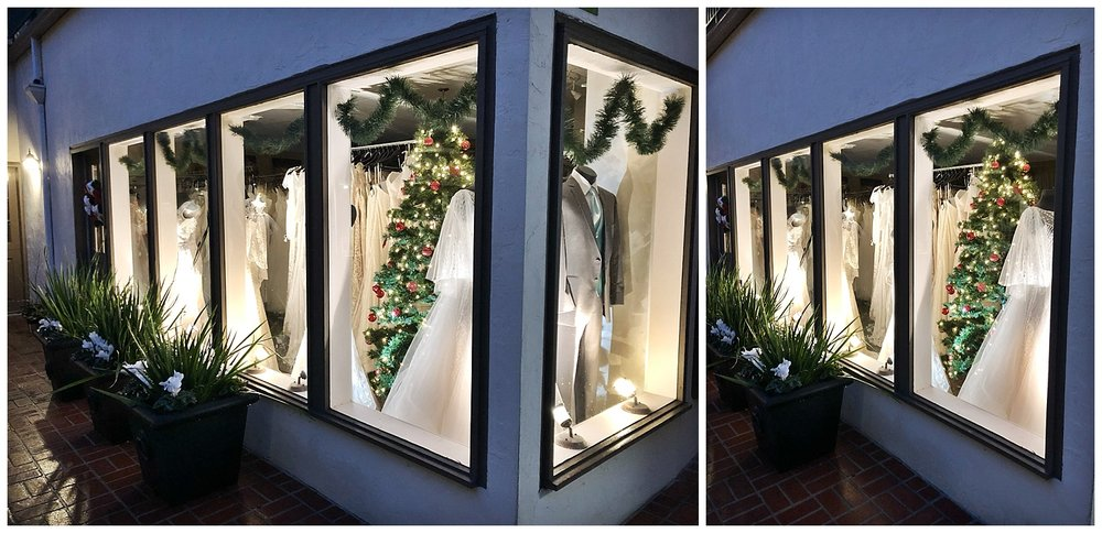 Our boutique is absolutely magical at night!