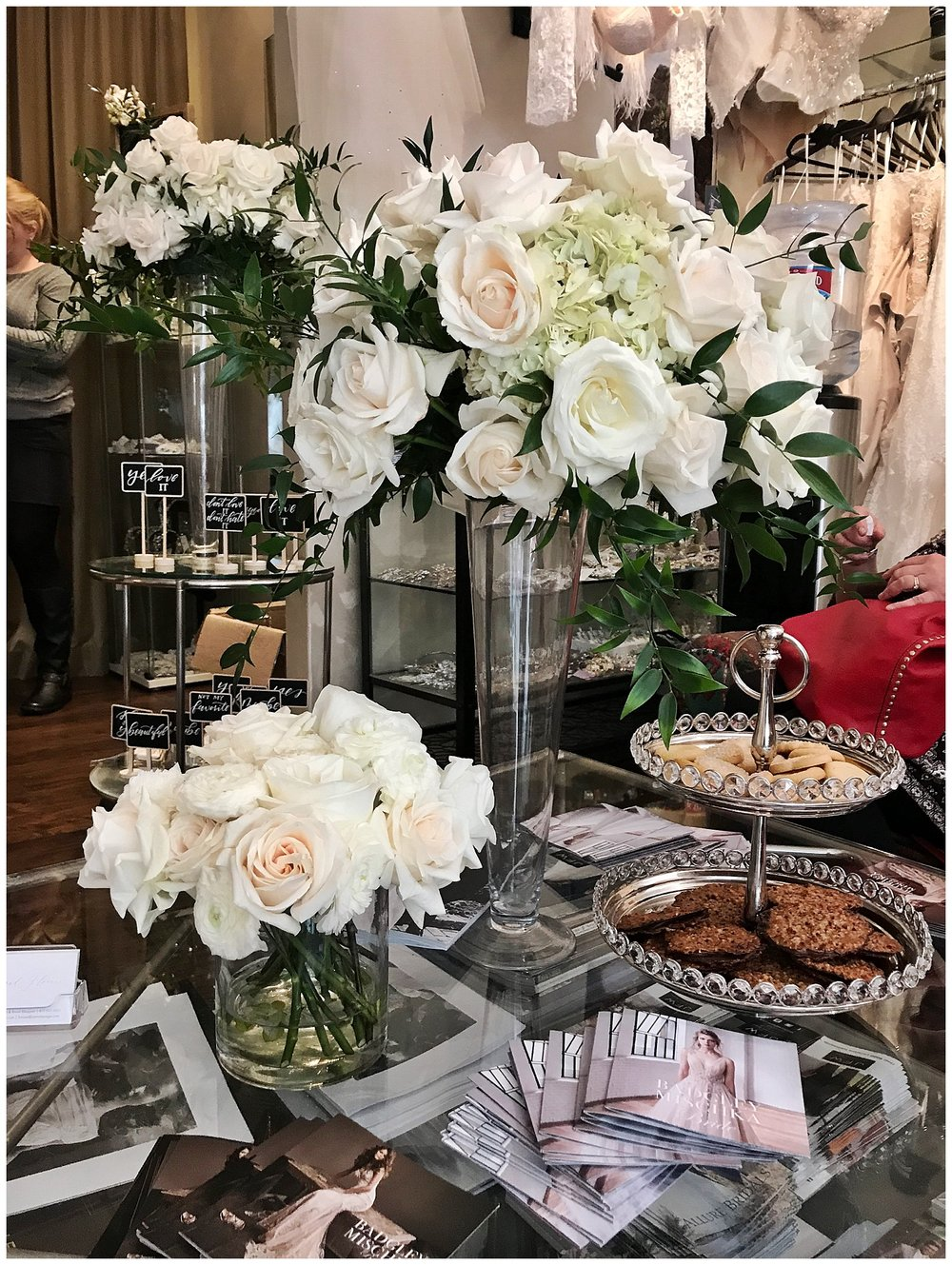 Florals from our dear friends at  Love and Flowers By Angie