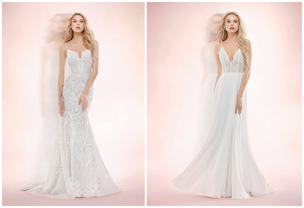 BLUSH BY HAYLEY PAIGE -ALL GOWNS ARE 50% OFF