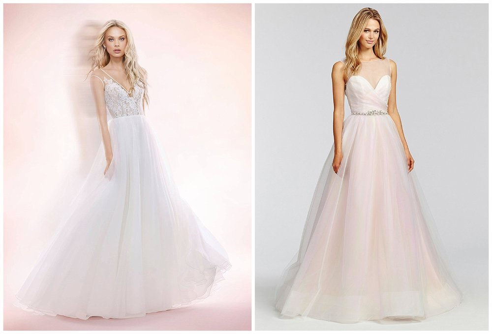 BLUSH BY HAYLEY PAIGE WEDDING DRESSES ARE ALL 50% OFF