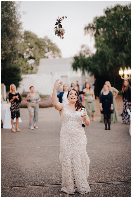 los-laureles-lodge-carmel-valley-california-summer-wedding-bouquet-toss.jpg