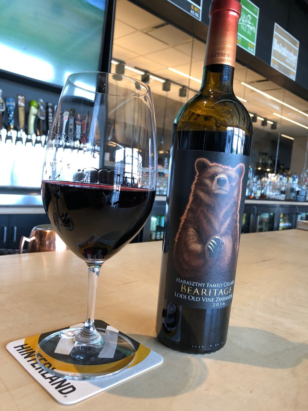 2016 Haraszthy Family Cellars Old Vine Zinfandel  Bearmitage  Lodi California : haraszthy family cellars  - Aeropaca.Org