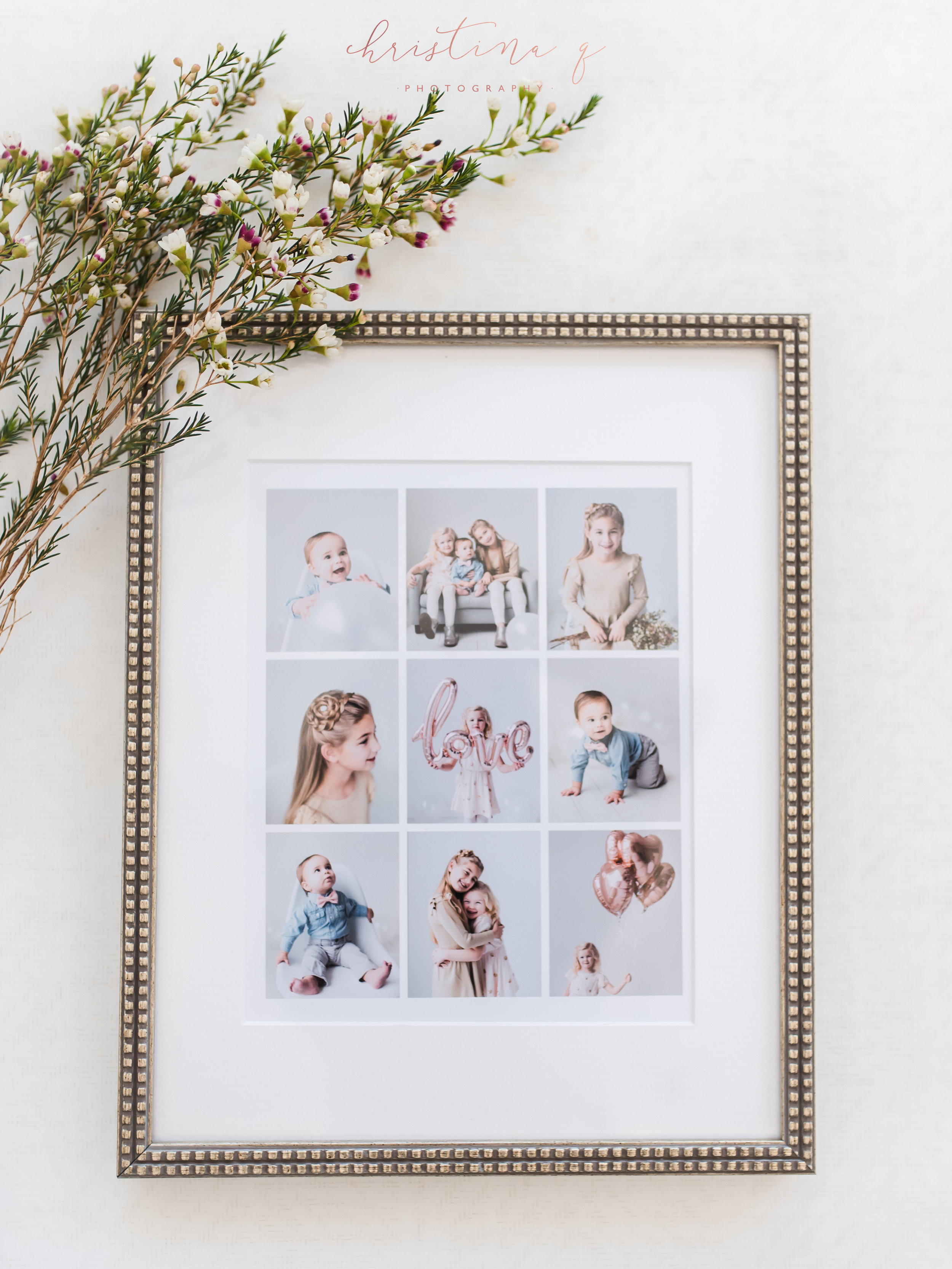 valentine mini sessions collage frames | dallas family photography ...