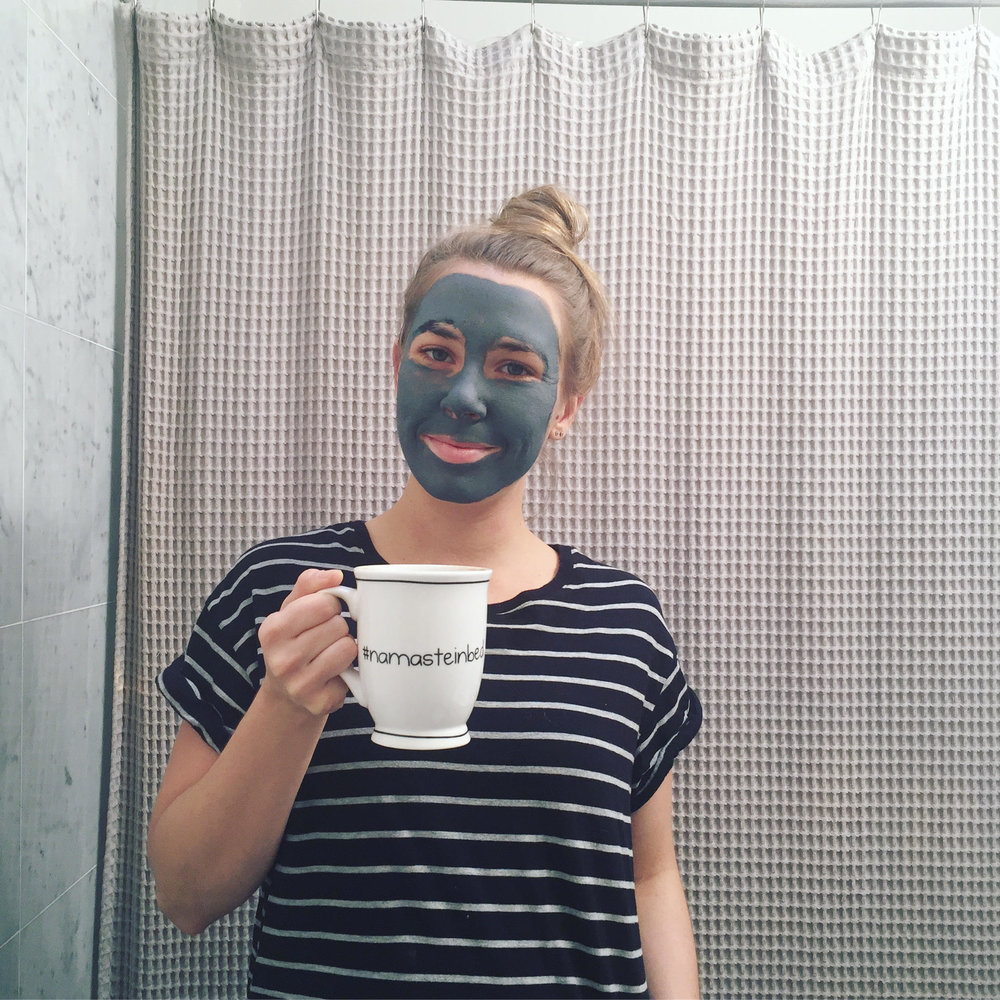 My favorite face mask of 2017 was the  BeautyCounter Balancing Facial Mask , it did wonders for my skin!