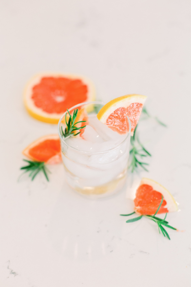 Grapefruit Gin + Tonic - aka the only one I drink!