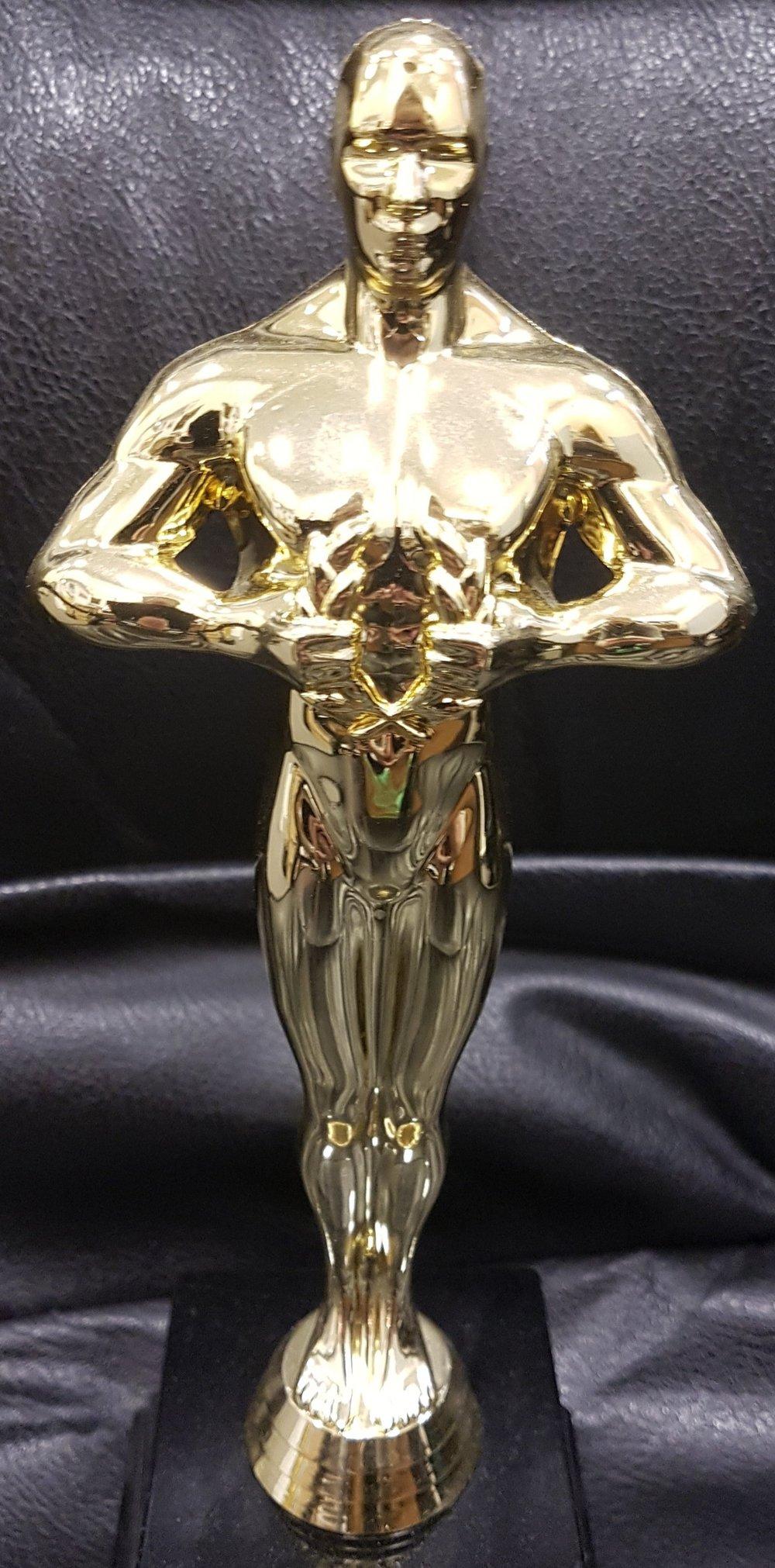 A&E Celebrating Success Awards 2017 - Trophy