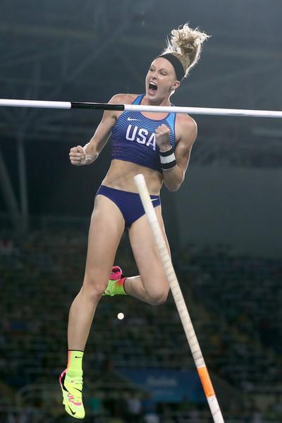 Sandi Morris at the 2016 Summer Olympics in Rio