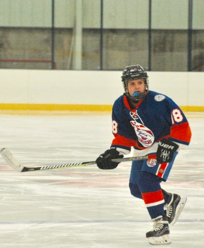 Nina Herceg, with Long Island Lady Islanders