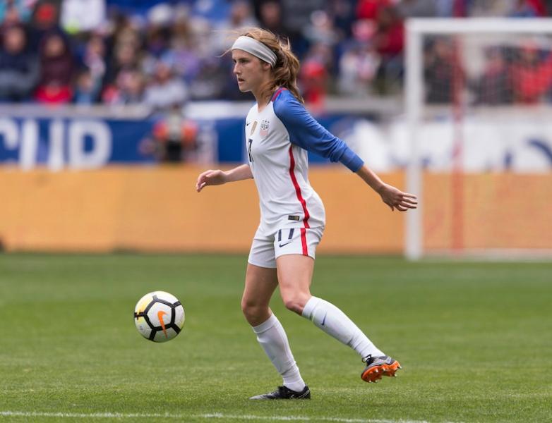 #1 draft pick Tierna Davidson Image credit- US Soccer