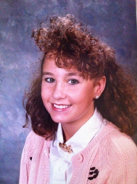 Mrs. Spickler in 9th grade.