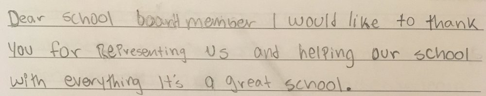 - Marco, Grade 8
