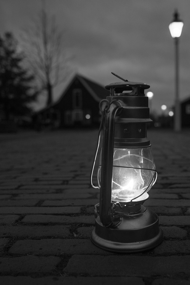 Lantern on ground - black and white - medium.jpg