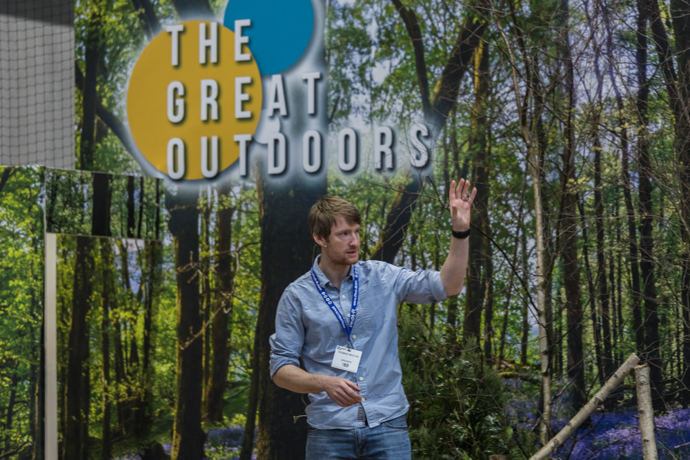 Thomas Heaton on the Great Outdoors Stage