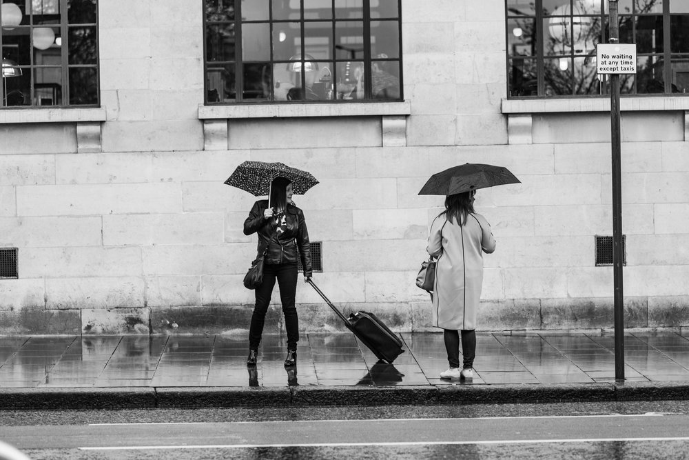 Do not let the rainy day make you put the camera away. The amount of opportunities are literally just outside the door, so wrap up warm and get out there