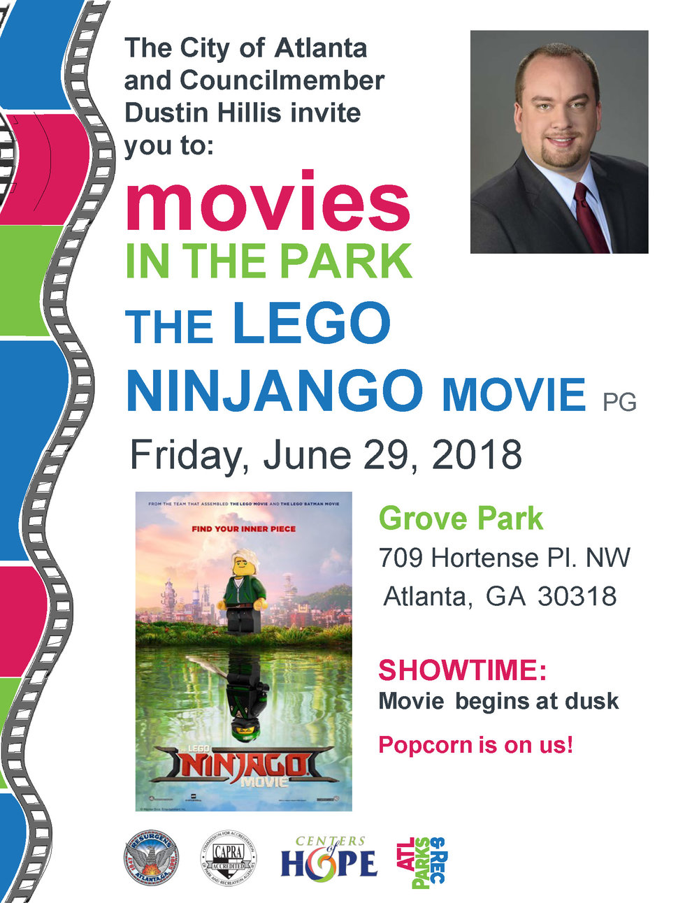 2018 Movies in the Park Flyer LegoNinjango.jpg