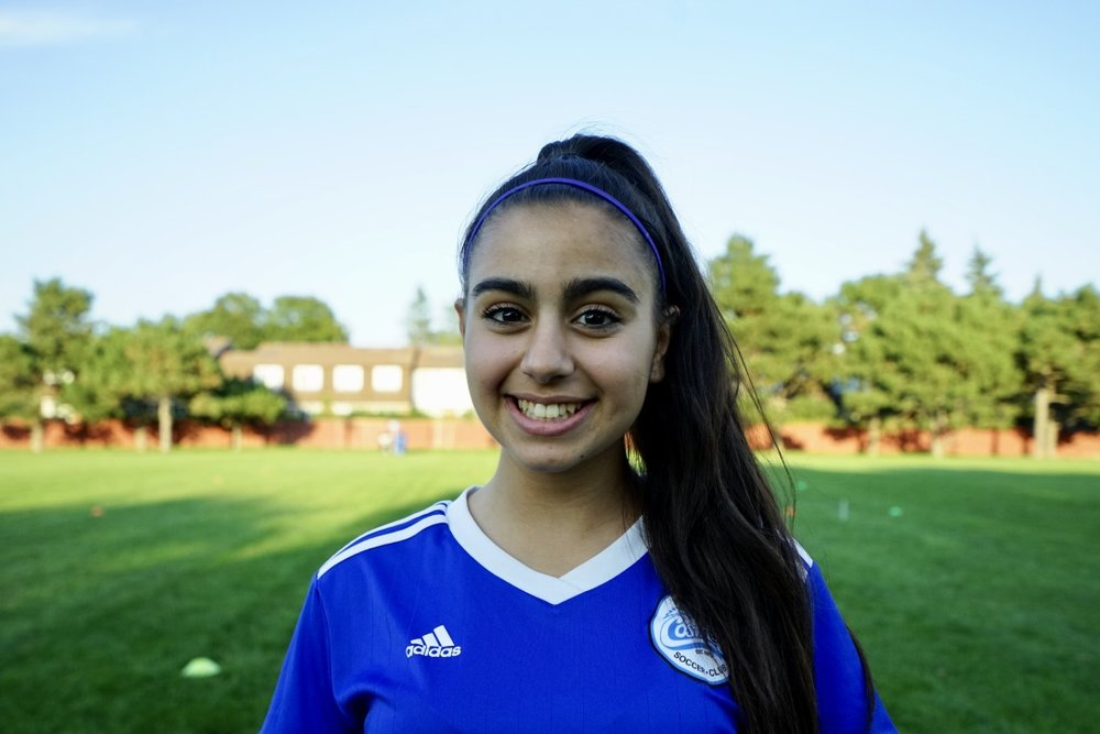#3 | Priscilla Voulgaris Midfielder - 2021 -