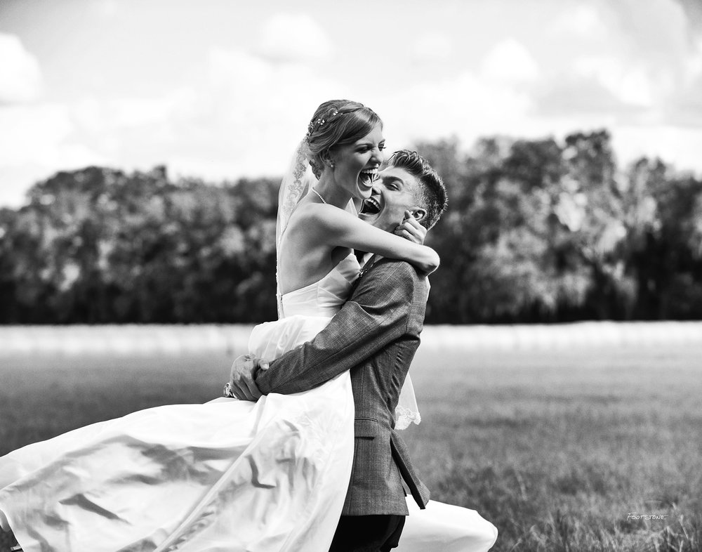Gainesville Bride Photographer Romantic Field Wedding Photography
