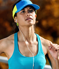 Sorry…running with headphones is a BAD idea!