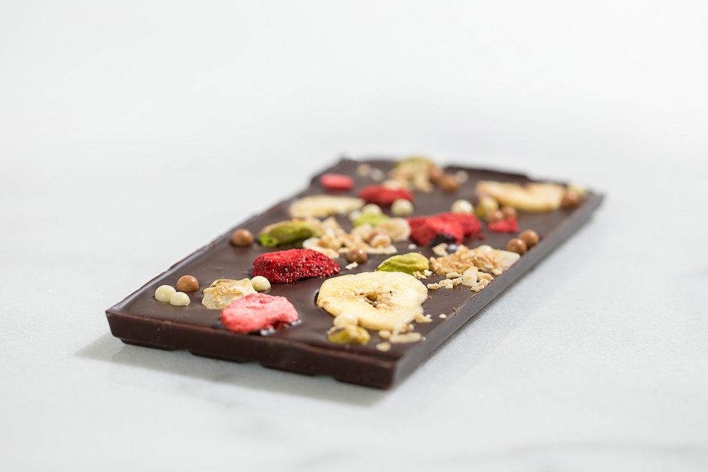 Fruit and Nut Mendiant Bar