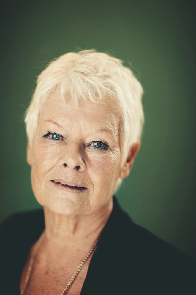 Dame Judi Dench, The Mayfair Hotel, London