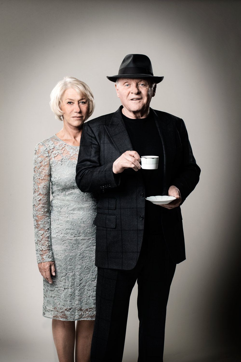 Dame Helen Mirren and Sir Anthony Hopkins, The Dorchester, Mayfar