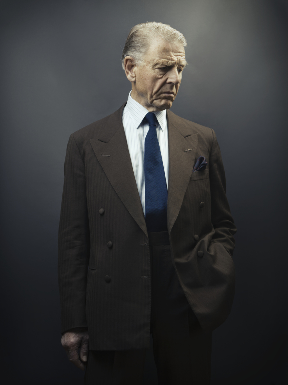 Edward Fox OBE, Savile Club, London