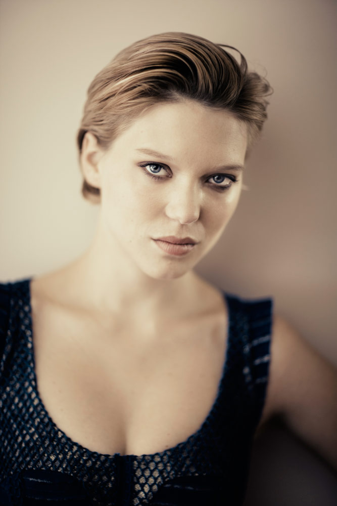 Léa Seydoux, The Mercer Hotel, Covent Garden