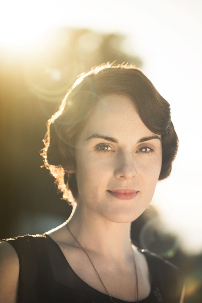 Michelle Dockery, Highclere, Newbury